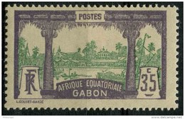 Gabon (1910) N 41 * (charniere) - Non Classés