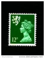 GREAT BRITAIN - 1986  SCOTLAND  12 P.  PERF. 15 X 14   MINT NH   SG  S52 - Regionalmarken