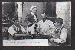 """Jeu / Cartes à Jouer / Deux Sèvres / Cerisay """"Une Partie De Carte"""" / Reproduction Photo Copie Print (fond Neudin ) - Cartes à Jouer"""