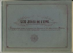 Photos Souvenirs Vacances 1909 à Fribourg (Suisse). Grandvillard (Gruyère). Romont. Jeu Du Croquet. Cercle Du Jasoir. - Places