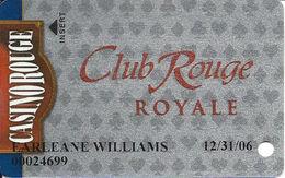 Casino Rouge - Baton Rouge, LA - Slot Card - Casino Cards