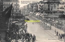CPA BRUXELLES  1830 1905 75 E ANNIVERSAIRE DE L'INDEPENDANCE BELGE DEFILE DES ECOLES - Fêtes, événements