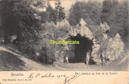 CPA  BRUXELLES PONT RUSTIQUE AU BOIS DE LA CAMBRE NELS SERIE 1 NO 109 - Forêts, Parcs, Jardins