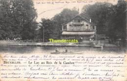 CPA  BRUXELLES  LE LAC AU BOIS DE LA CAMBRE - Forêts, Parcs, Jardins