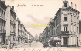CPA  BRUXELLES  LA RUE DES PALAIS - Avenues, Boulevards