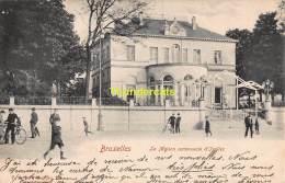 CPA  BRUXELLES  LA MAISON COMMUNALE D'IXELLES - Ixelles - Elsene