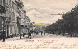 CPA  BRUXELLES  BOULEVARD DU JARDIN BOTANIQUE VUE D'ENSEMBLE - Avenues, Boulevards