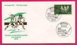 FDC - Hockey Sur Gazon - Femmes - Hockey Weltmeisterschaft Der Damen 1976 - Berlin - Hockey (su Erba)