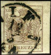 Austria. Scott #4b. Machine Paper. Used. Very Fine. - Used Stamps