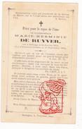 DP Marie H. De Ruyver ° Deftinge Lierde 1854 † 1883 - Druk Sottegem Vekeman Zottegem - Images Religieuses