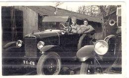 AUTOMOBILE  1927 Environ 11x7cm - Automobiles