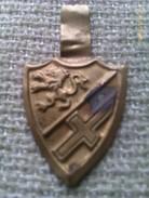 Emblema De Auxilio Social De Aragon. Guerra Civil Española. 1936-1939. Bando Nacional.Seccion Femenina De Falange - 1939-45