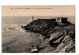29 - LE CONQUET . LE PORT ET LE PHARE DE KERMORVAN - Réf. N°3317 - - Le Conquet