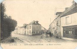 SAINT-NOM-LA-BRETECHE MAIRIE POSTE 78 - St. Nom La Breteche