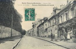 """SAINT-NOM-LA-BRETECHE GRANDE-RUE """"A LA GLYCINE"""" MAISON BANNIER-STALIN 78 - St. Nom La Breteche"""