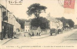 SAINT-NOM-LA-BRETECHE VIEILLE RUE ENSEMBLE DE LA GRANDE RUE 78 - St. Nom La Breteche