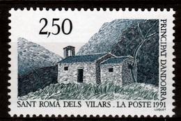 Andorra (French Adm.), Church In Sant Roma Dels Vilars, 1991, MNH VF - French Andorra