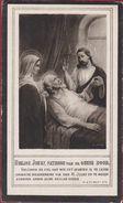 Joseph Hoogeweys Nathalia Weemaes Kalken Calcken Zele 1861 1926 Doodsprentje Image Mortuaire (In Zeer Goede Staat) - Andachtsbilder