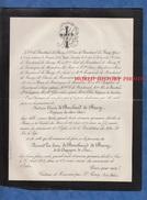 Document De 1883 - Château De ROUSSAN P. SAINT REMY Bouches Du Rhône - Soeur Césarie De BOUCHAUD De BUSSY - Père Louis - Historical Documents