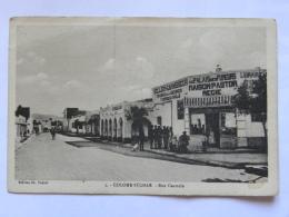 CPA Afrique - ALGERIE - COLOMB BECHAR - Rue Centrale - Autres Villes
