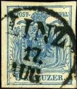 Austria. Scott #5e. Machine Paper. Used. VF. - Used Stamps