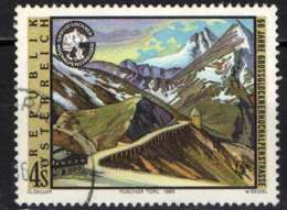 AUSTRIA - 1985 - STRADA ALPINA SUL PASSO DEL GROSSGLOCKNER - USATO - 1981-90 Usados