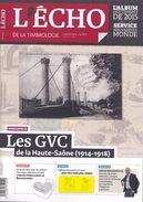 Echo De La Timbrologie Année Complète 2016 N° 1902 à 1912 - Français (àpd. 1941)