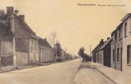 Mannekensvere, Brugsche Steenweg En School (pk36898) - Middelkerke