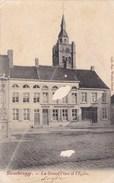 Roesbrugge, Rousbrugge, La Grand Place Et L'Eglise,  (pk36901) - Poperinge