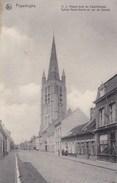 Poperinge, Poperinghe, O.L.Vrouw Kerk En Casselstraat (pk36905) - Poperinge