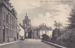 Poperinge, Poperinghe, Place Berten Et Eglise St Bertin (pk36908) - Poperinge