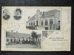 AK STOPFENREITH Engelhartstetten Stopfenreuth B. Gänserndorf 1910 //// D*24960 - Gänserndorf