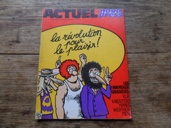 ANCIENNE REVUE UNDERGROUND / ACTUEL   N° 7 / NVLE SERIE  /  AVRIL. 1971 - Autre Magazines