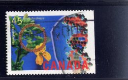 CANADA  1996, USED # 1598  HIGH TECHNOLOGY INDUSTRIES:  BIOTECHNOLOGY - 1952-.... Règne D'Elizabeth II