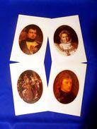 4 Gravures De Napoléon En Papier Couché - Andere