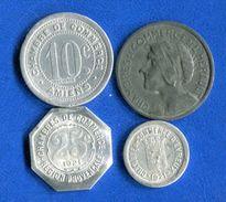 4  Jetons - Monétaires / De Nécessité