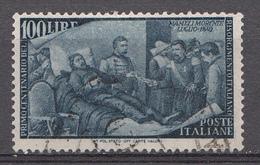 Italie 1948 Mi.Nr: 759 Jahrestag Der Erhebung Von '48  Oblitèré / Used / Gebruikt - 6. 1946-.. Republic