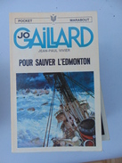 Pocket Marabout No 75- Jo Gaillard No 9- Pour Sauver L'Edmonton - Bücher, Zeitschriften, Comics