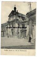 Praha, Kostel Sv. Jiri Na Hradcanech, Alte Ansichtskarte 1906 - Czech Republic