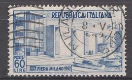 Italie 1952 Mi.Nr: 859 Mailänder Messe  Oblitèré / Used / Gebruikt - 6. 1946-.. Republic
