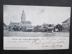 AK GROSS ENZERSDORF B. Gänserndorf 1899//// D*24986 - Gänserndorf