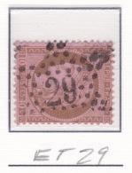 Etoile 29 Sur 54 - Marcophilie (Timbres Détachés)