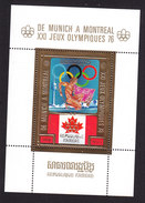 Cambodia, Scott #324 Souvenir Sheet, Mint Hinged, Olympics, Issued 1975 - Cambodge