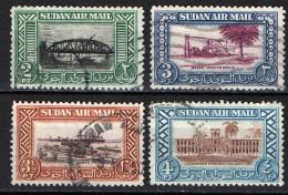 SUDAN - 1950 - IMMAGINI DEL SUDAN - USATI - Sudan (1954-...)