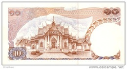 THAILAND  P. 83a 10 B 1969 UNC (s. 49) - Tailandia