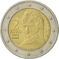 Autriche, 2 Euro, 2010, TTB, Bi-Metallic, KM:3143 - Autriche