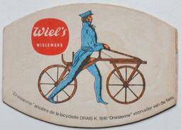Sous-bock WIEL'S WIELEMANS Draisienne Bicyclette DRAIS 1816 (velo) Bierdeckel Bierviltje Coaster (CX) - Sous-bocks
