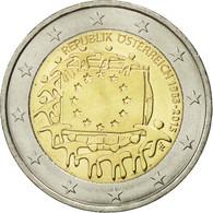 Autriche, 2 Euro, Drapeau Européen, 2015, SPL, Bi-Metallic - Autriche