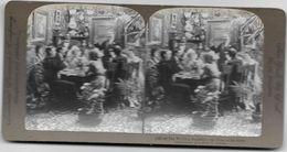 S0591 - Américan Stéréoscopic Company - Le Déjeuner De Noce - Le Toast à La Fiancé - Stereoscopio