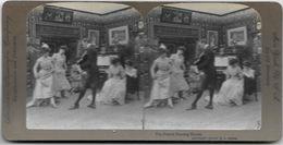 S0598 - Américan Stéréoscopic Company - La Danse Française. Maîtriser - Stereoscopio